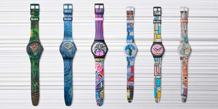 Swatch x MoMA