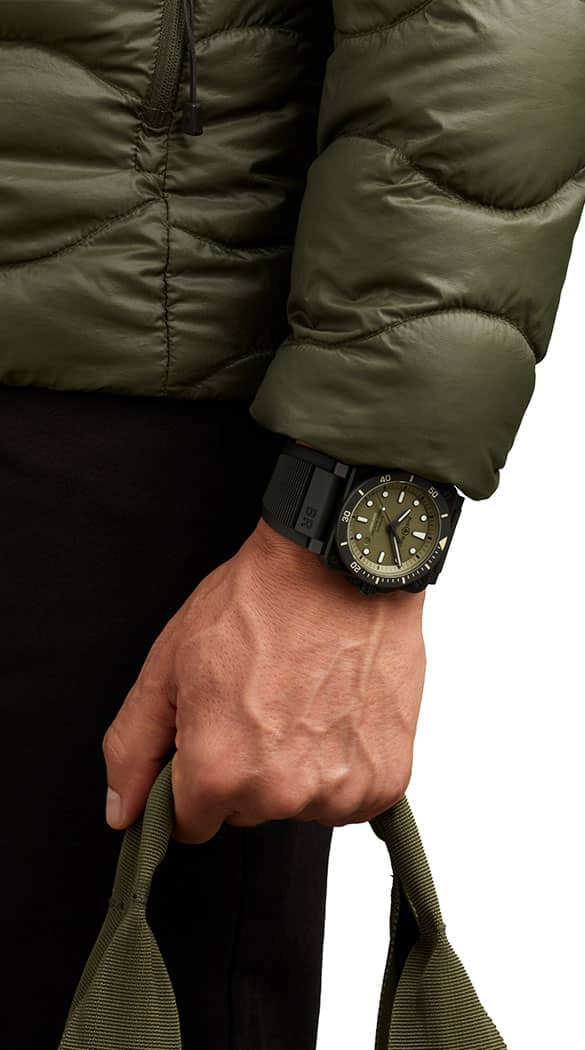Bell and Ross BR 03-92 Diver Military