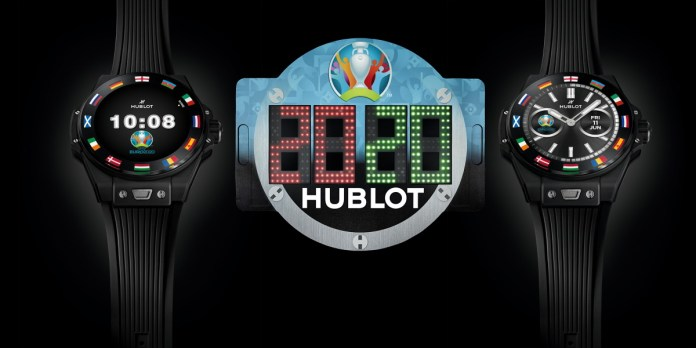 Hublot Big Bang e EURO2020
