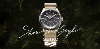 Seiko 5 Sports Military