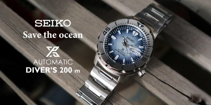 Seiko Save the ocean Monster SRPG57K1