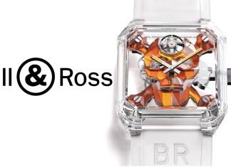 Bell & Ross BR01 Cyber Skull Sapphire