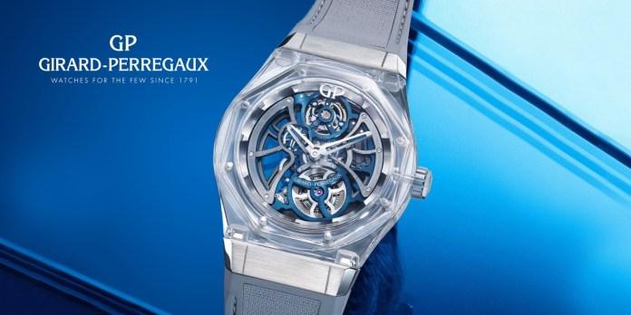 Girard-Perregaux Laureato Absolute Light Bucherer Blue