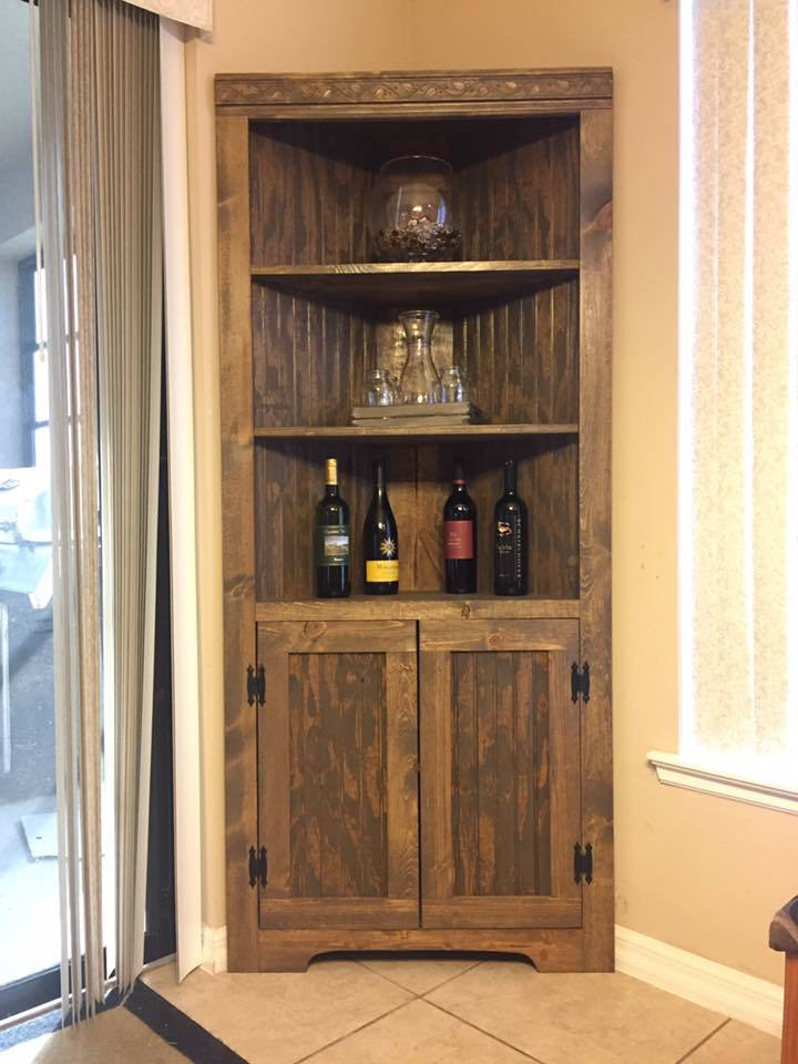 Ana White Corner Cabinet DIY Projects