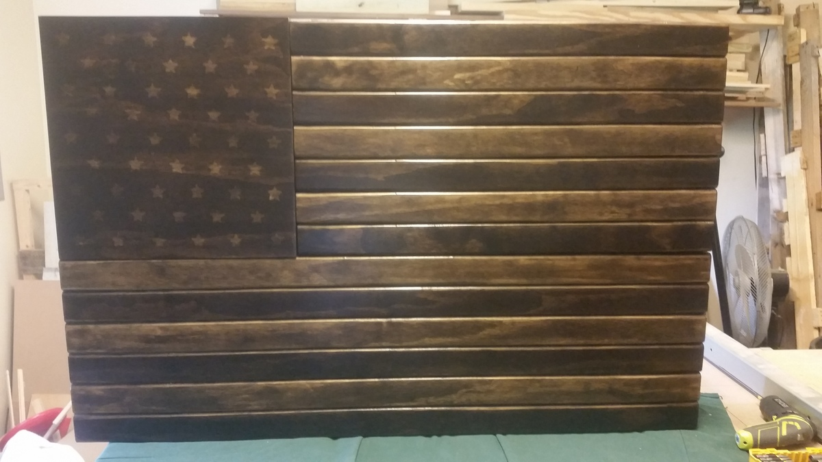 Ana White Us Flag Gun Case Diy Projects