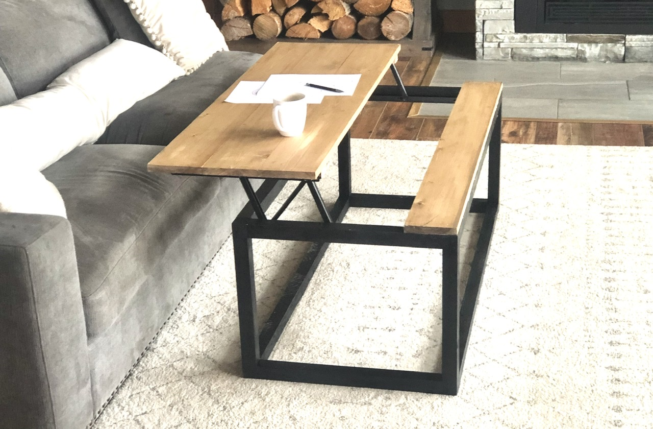 Box Frame Coffee Table With Lift Top Ana White