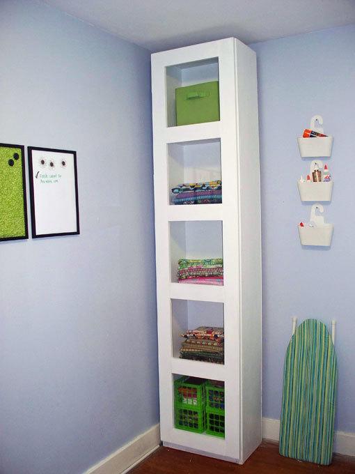 Craft Room Storage Tower Ana White