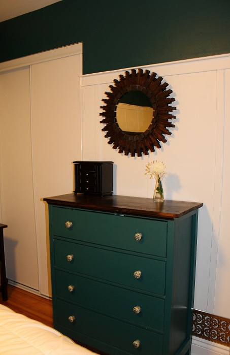 Small Dark Wood Dresser