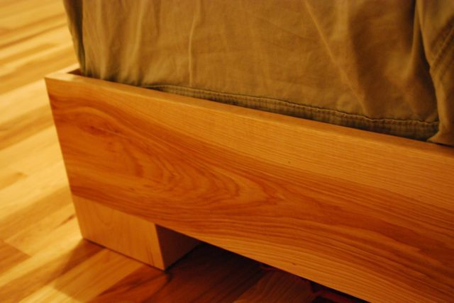 Ana White Chunky Leg Bed Diy Projects