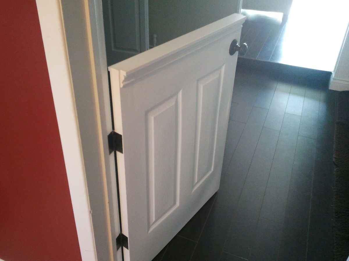 Ana White Doggy Door Or Baby Gate DIY Projects