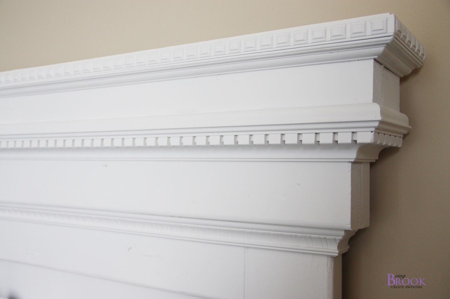 Ana White   Mantel Moulding Headboard   DIY Projects Mantel Moulding Headboard