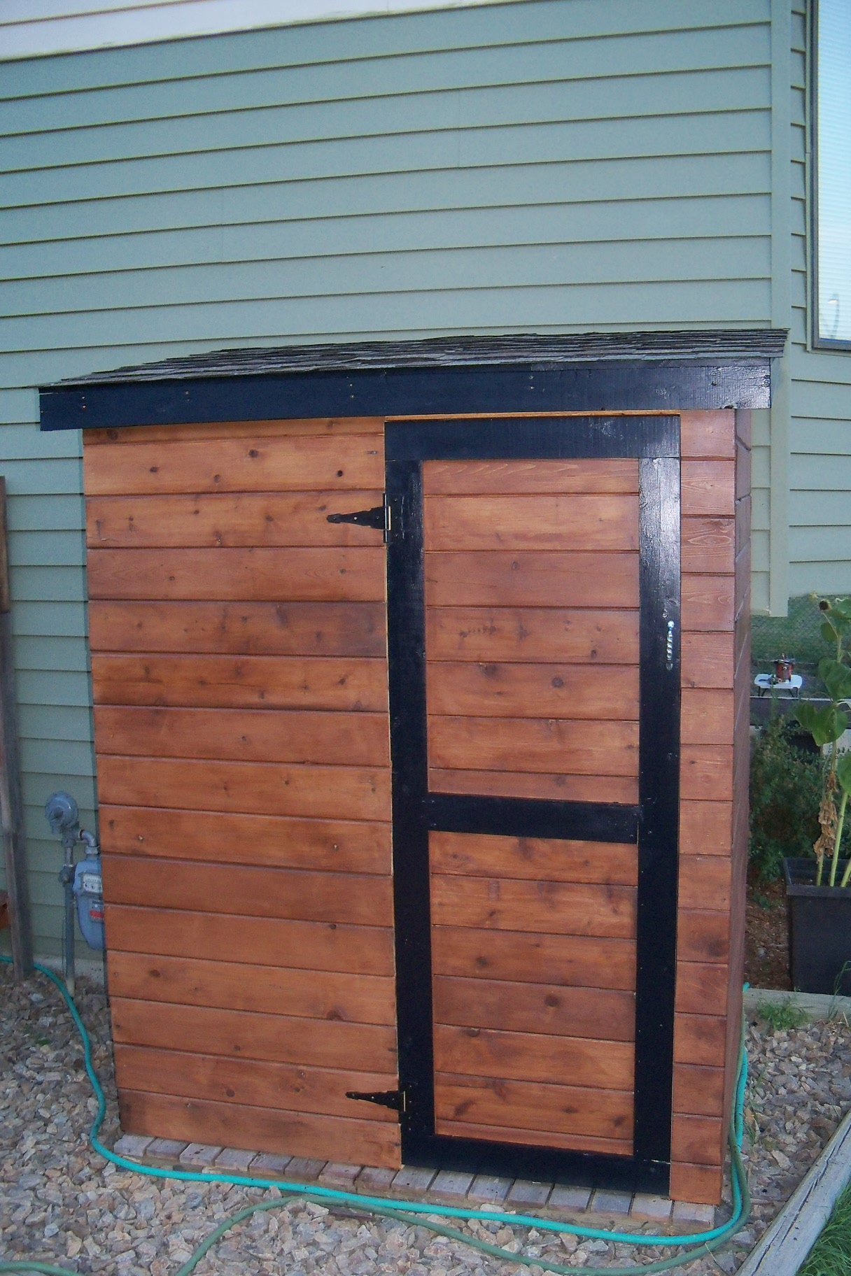 Garden Diy Wood Shed