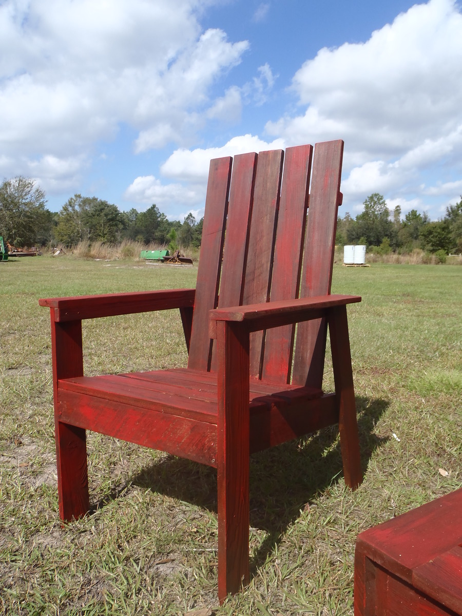 Ana White SIMPLE OUTDOOR CHAIR FROM BOOK PLAN DIY Projects