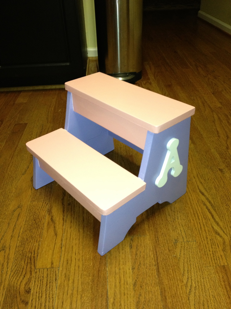 Ana White Toddler Step Stool DIY Projects