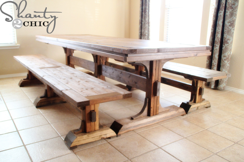 Woodwork Dining Room Table Bench Plans PDF Plans