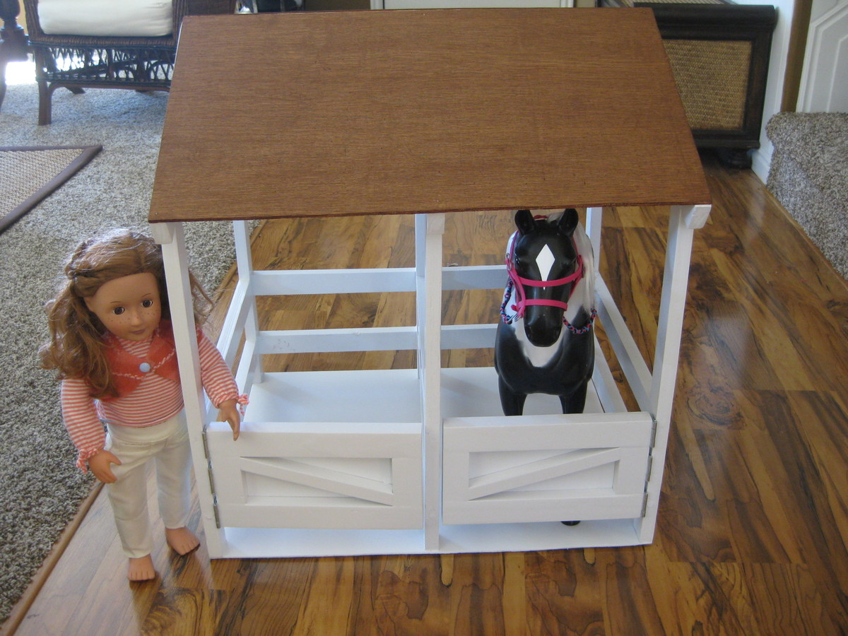Ana White Horse Stable DIY Projects