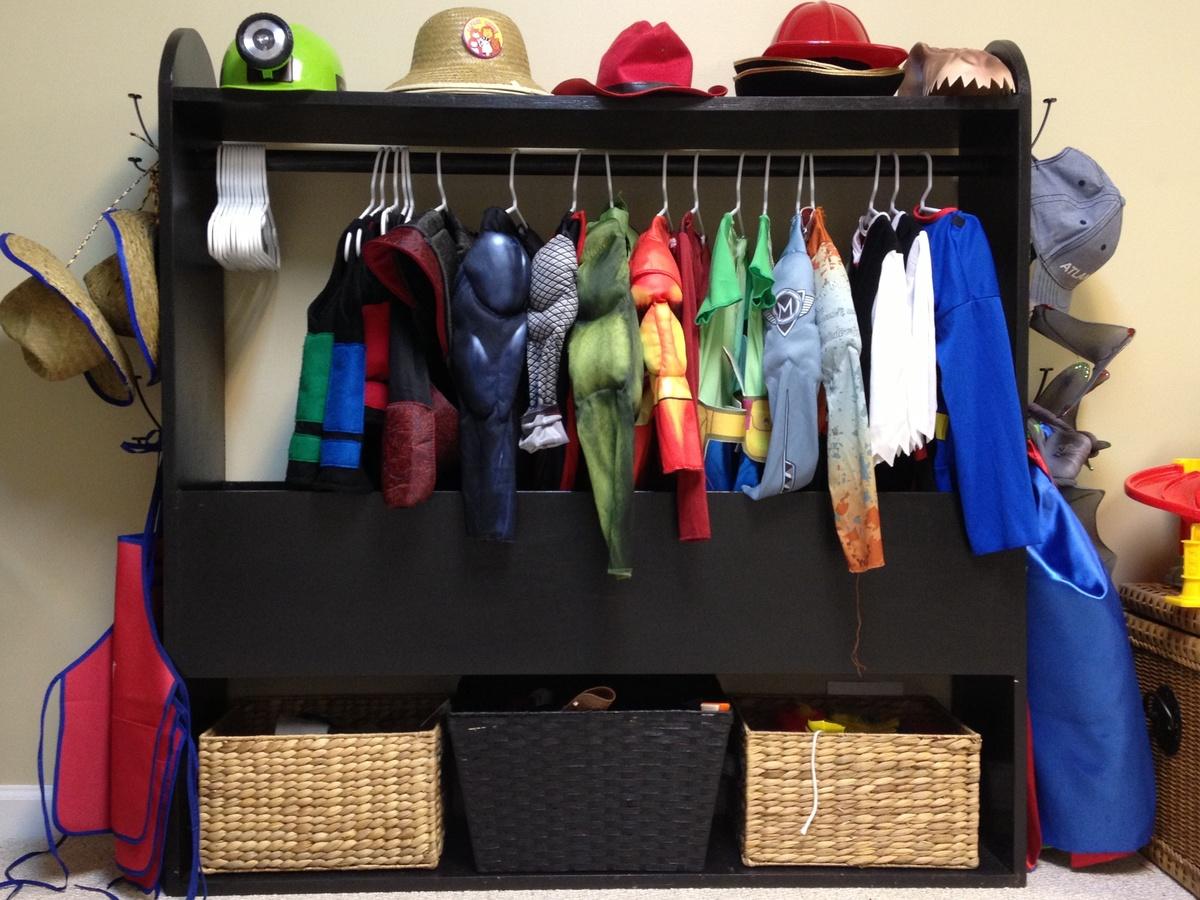 Ana White Boys Costume Closet DIY Projects