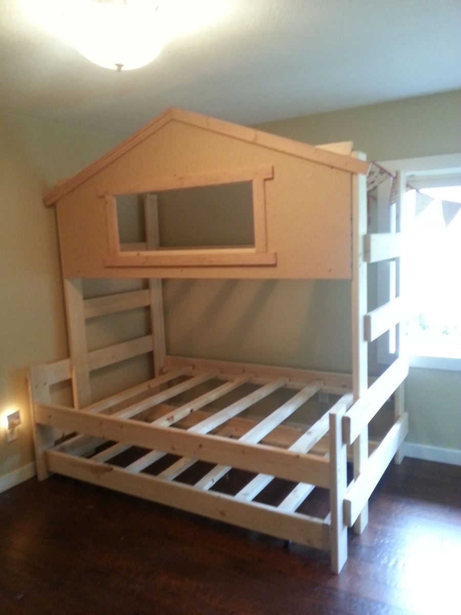 Ana White Dreamworks Custom Bunk Beds And Lofts DIY Projects