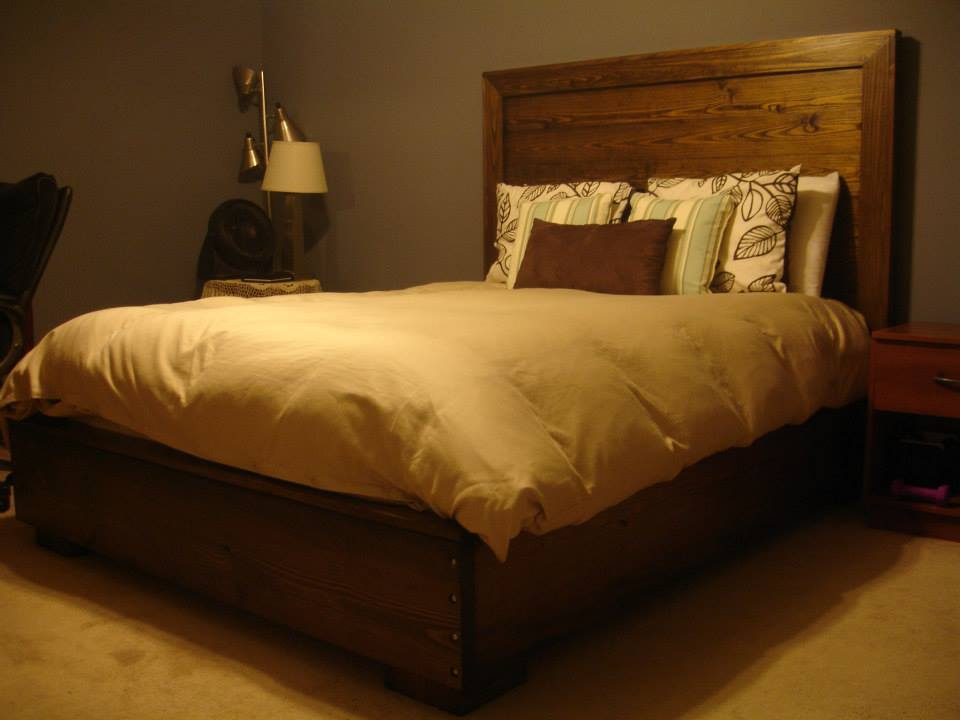 Ana White First Build Platform Bed And Hailey
