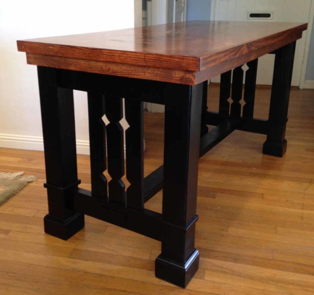 Mission style sofa table plans free for End table plans free