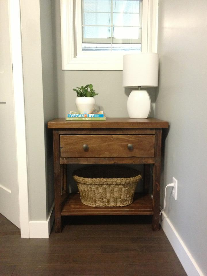 Ana White Hallway Table DIY Projects