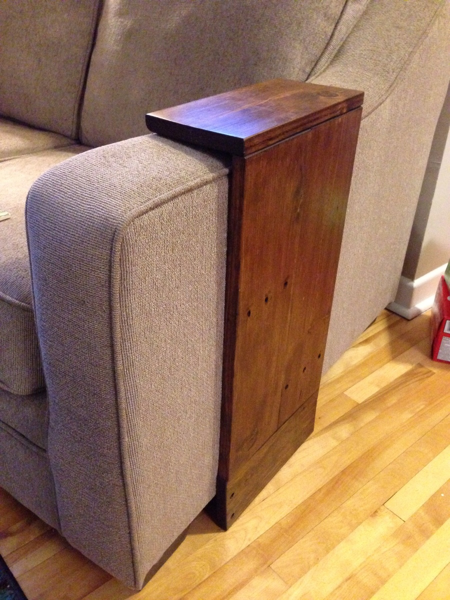 Ana White Easy Small Space Side Table DIY Projects