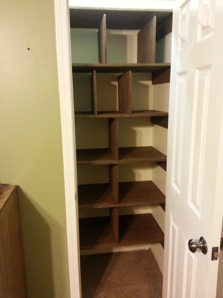 Diy Linen Closet Shelving