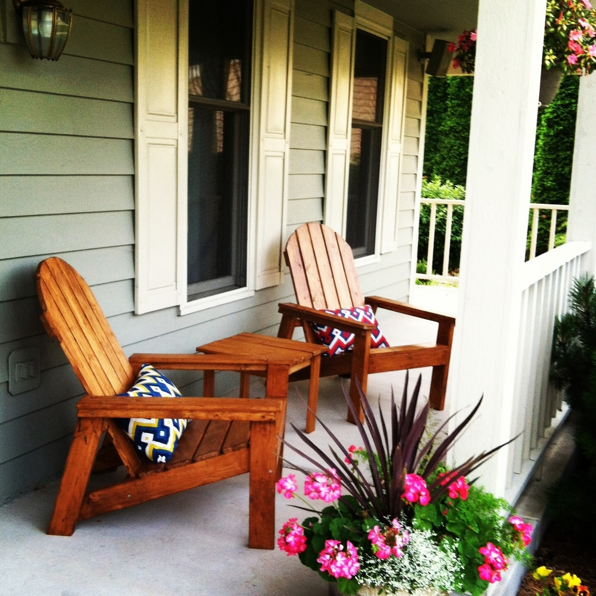 Porch Table And Chair Set