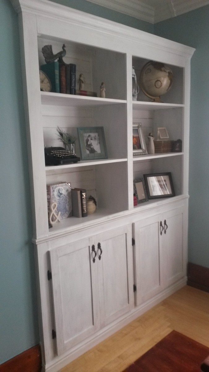 Ana White Shanty Sideboard And Hutch Built In DIY Projects
