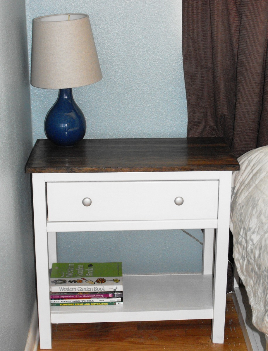 Ana White Farmhouse Bedside Table DIY Projects
