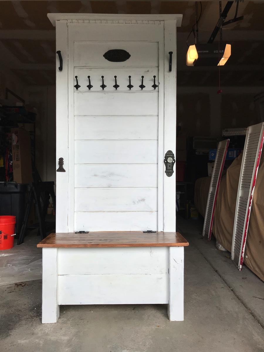 Ana White Hall Tree Storage Bench Diy Projects