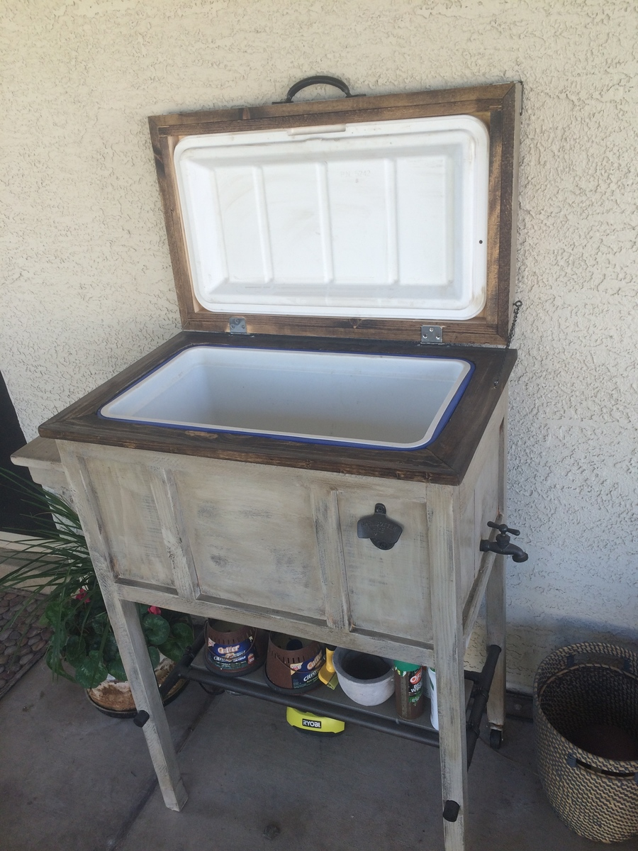 Ana White Patio Cooler Box Diy Projects