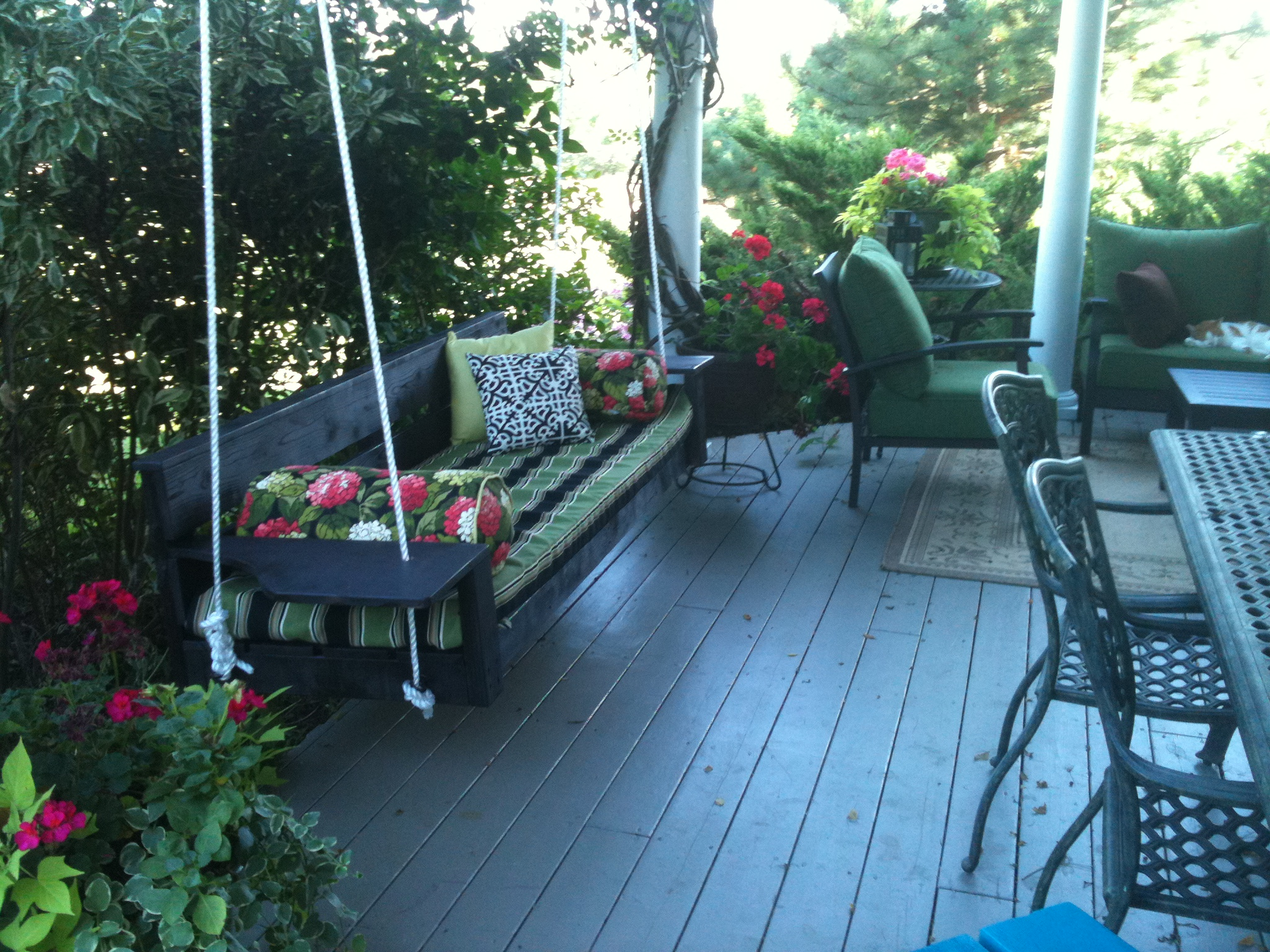 Oversized Porch Swing Plans PDF Woodworking