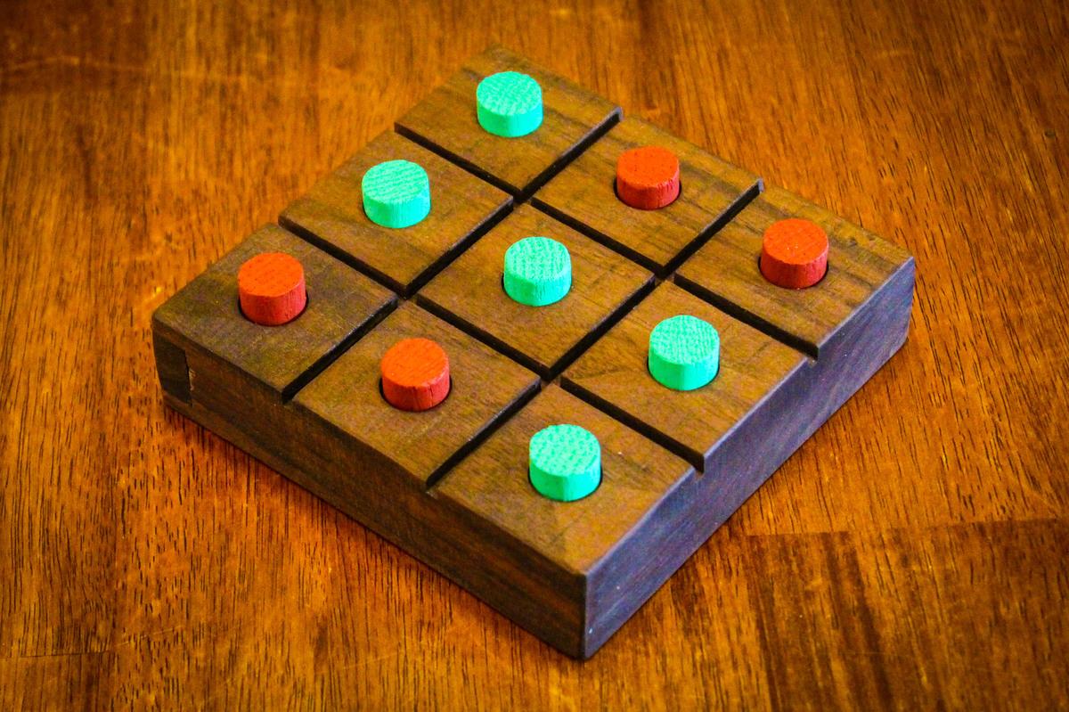 Ana White Wood Tic Tac Toe Board