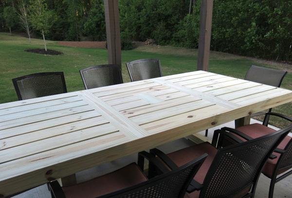 patio table ana white
