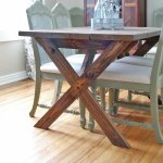 Classic X Picnic Table No Benches Ana White
