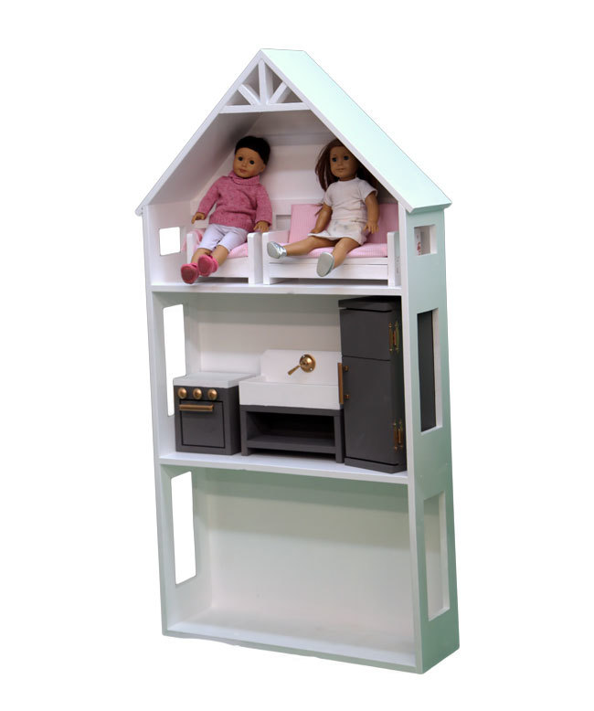 Ana White Smaller Three Story Dollhouse For 18 And