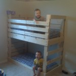 Crib Size Mattress Toddler Bunk Beds Ana White