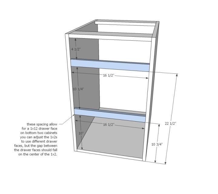 How to build frameless kitchen cabinets step by for Diy frameless picture frames