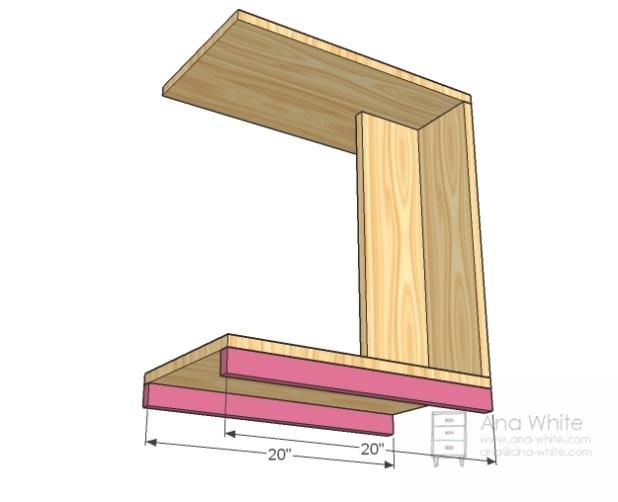 Slide Under Sofa Table Wood Okaycreationsnet