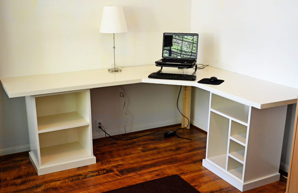 Modular Desk Finally Finished Ana White Woodworking