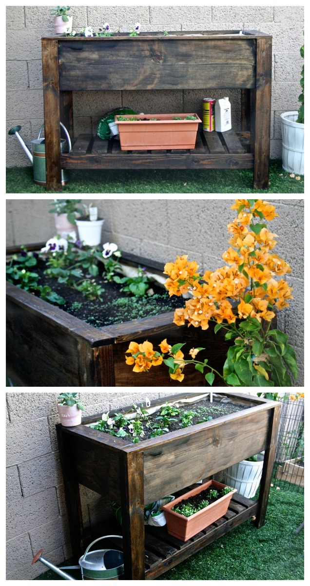 Raised Flower Box Plans