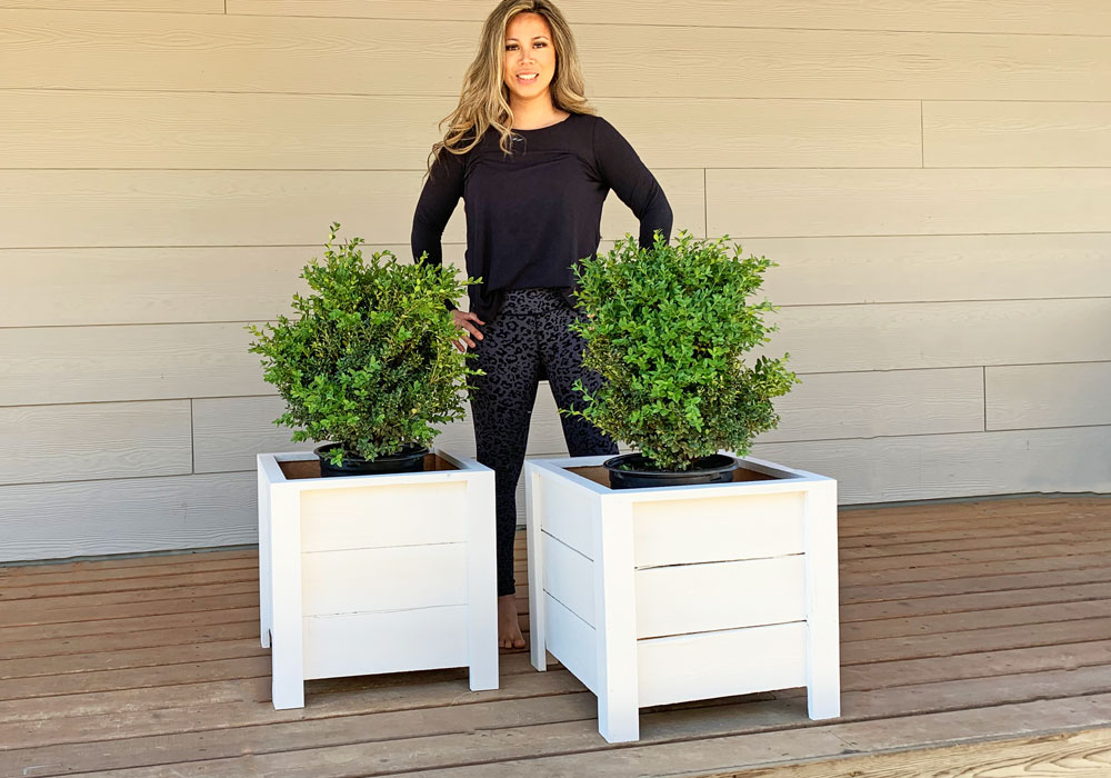 Easy Build Diy Planter Box Ana White