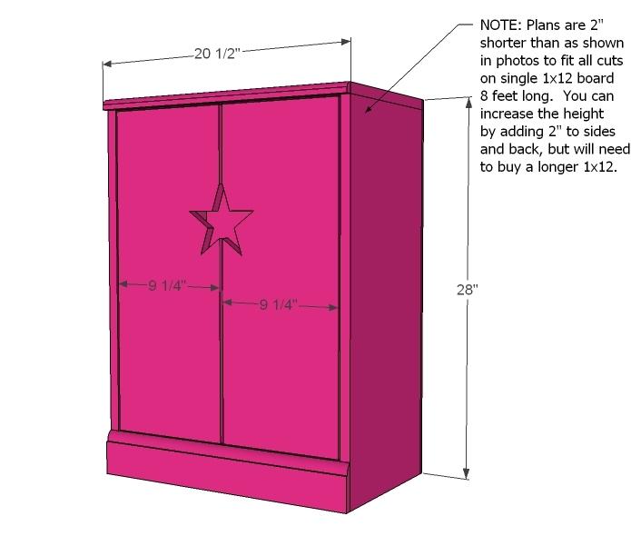 Ana White Mirrored Door Wardrobe Diy Projects