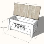 How To Build A Toy Chest Cheaper Than Retail Price Buy Clothing Accessories And Lifestyle Products For Women Men