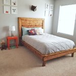 Hailey Platform Bed Frame Ana White