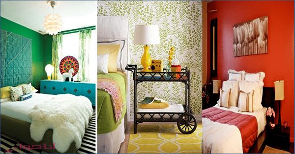 الوان غرف نوم للعروسين غاية في الرقة لاصحاب الذوق الراقي