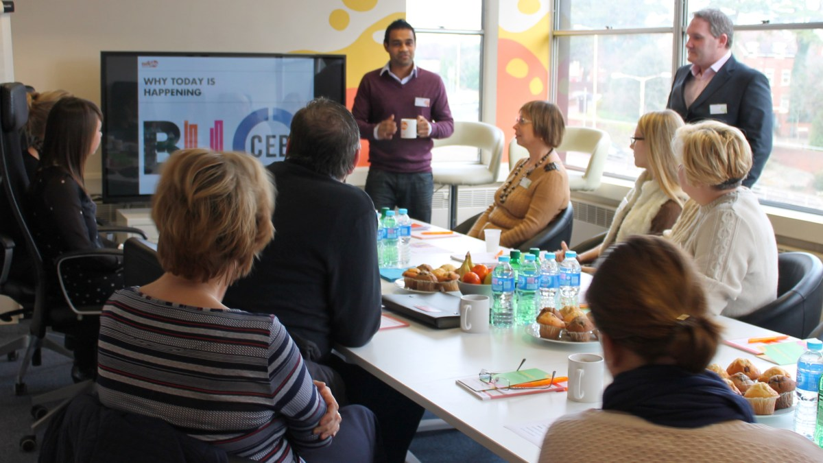 Social media training for charities
