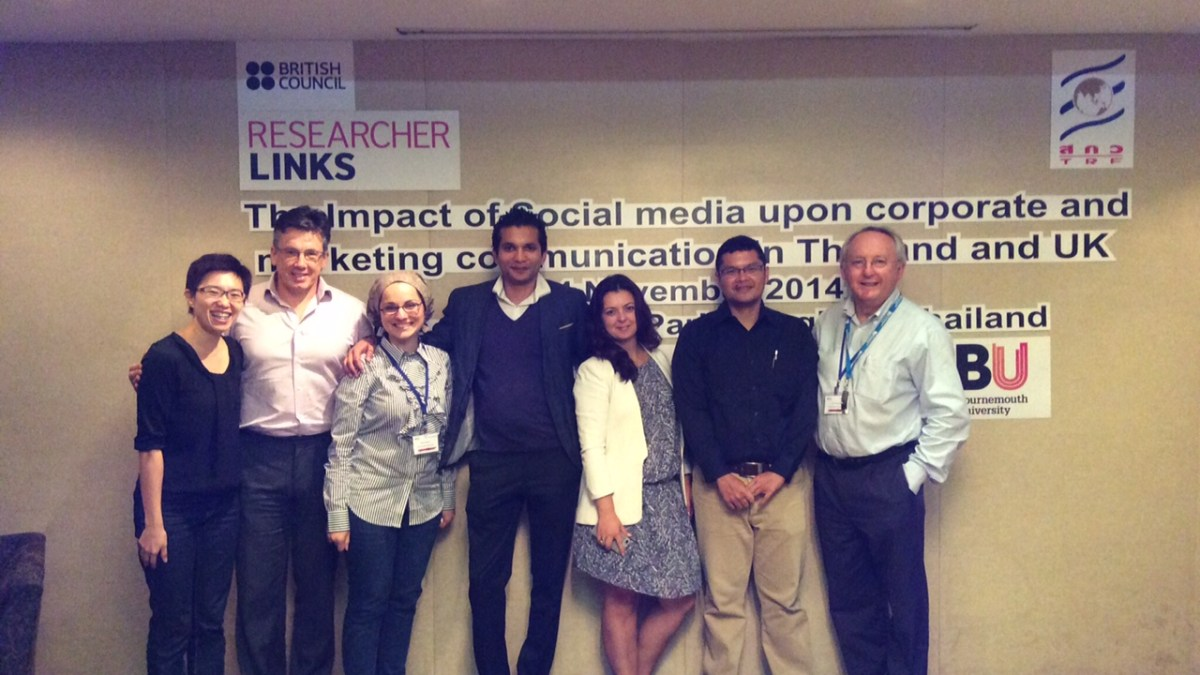 Collaboration at the heart of Thai and British researchers' development