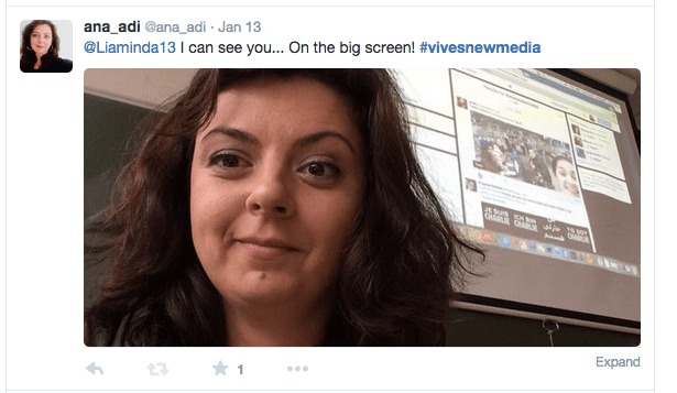 Teaching with Twitter: #vivesnewmedia reflections
